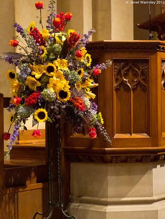 2013 Transfiguration Fr. Humphrey farewell