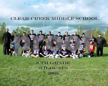 8th Grade Varsity Football