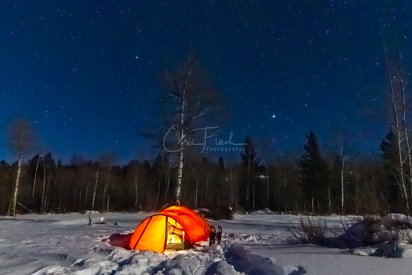 Night #3:  Bridger-Teton National Forest