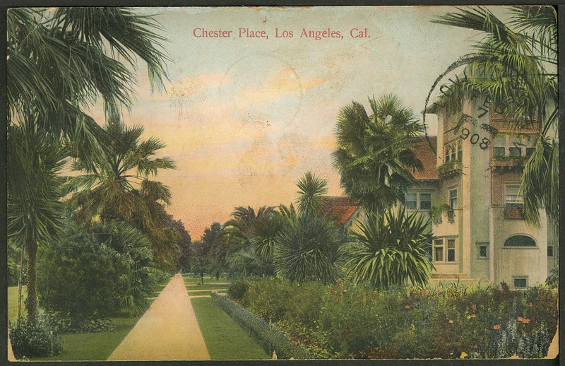 Chester Place, Los Angeles, California