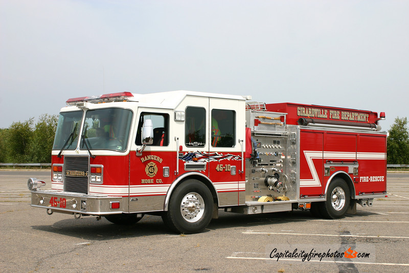 Girardville (Rangers Hose Co.) Engine 45-10: 2007 KME Predator 1500/750/20