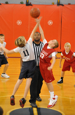 5th Grade Huskies Preseason vs Heat & Shockers 12-04-10