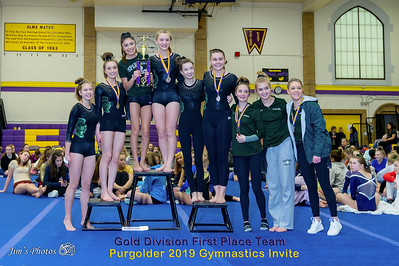 HS Sports - Purgolder Gymnastics Invite [d] Jan 12, 2019