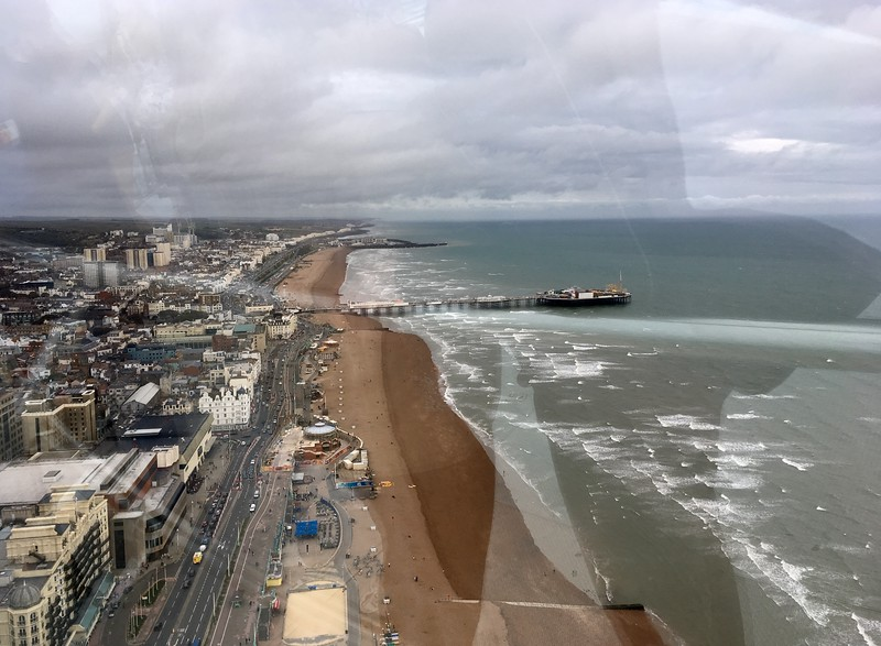 We finally went to the i360 to see this lovely city from the top