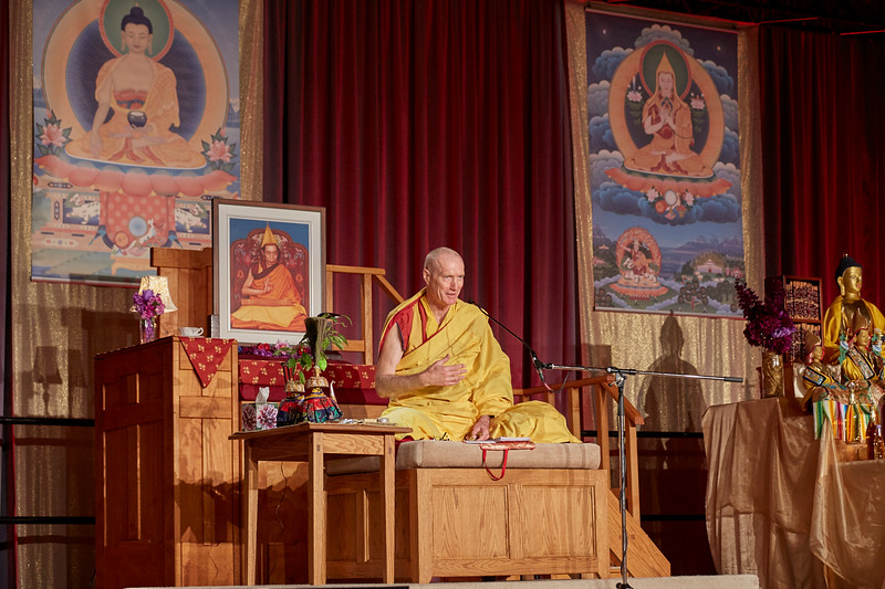 NKT-IKBU International Fall Festival 2016, Accomplishing The Ultimate Goal Of Human Life, October 7-13, with Gen-la Kelsang Khyenrab, Highest Yoga Tantra Empowerments And Commentary To The Practices Of Heruka Body Mandala And Vajrayogini, Toronto, Canada