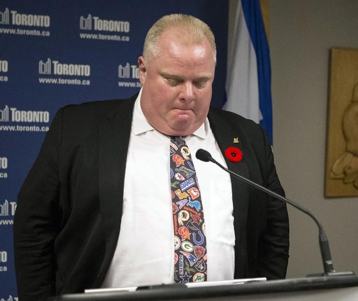 ". <p>10. (tie) ROB FORD <p>�I�M A SICK MOTHER******, DUDE!� (3) <p><b><a href=\'http://www.twincities.com/breakingnews/ci_24457664/toronto-mayor-admits-he-smoked-crack\' target=\""_blank\""> HUH?</a></b> <p>    (AP Photo/The Canadian Press, Chris Young)"
