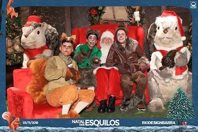 Natal dos Esquilos - Rio Design Barra