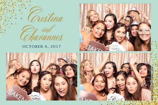 Chavannes & Cristina's Wedding Photo Booth