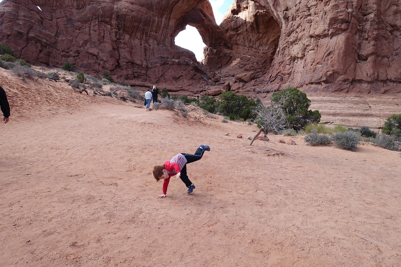 Samuel Calderon - Double Arch - Moab - USA