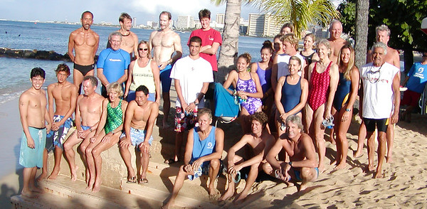 Outrigger Canoe Club 2004