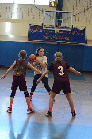 Quabbin 5th grade girls vs Ayer