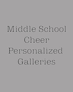 CA Cheer personalizedl Galleries