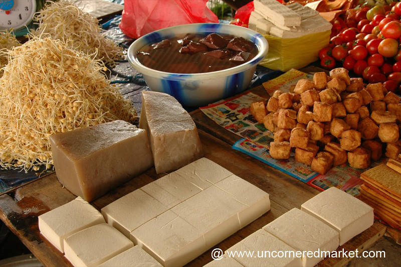 All Types of Tofu - Xishuangbanna, China
