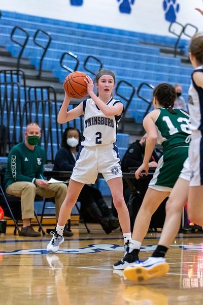 2021-01-09 -- Twinsburg vs Nordonia High School Girls Junior Varsity Basketball