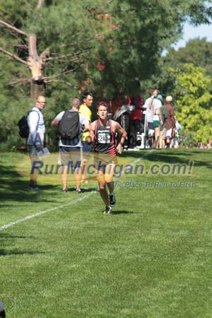 College Men 2 Mile Mark - 2012 Spartan Invitational