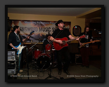 The Scott Almond Band at the 10th Annual Collingwood Music Showcase