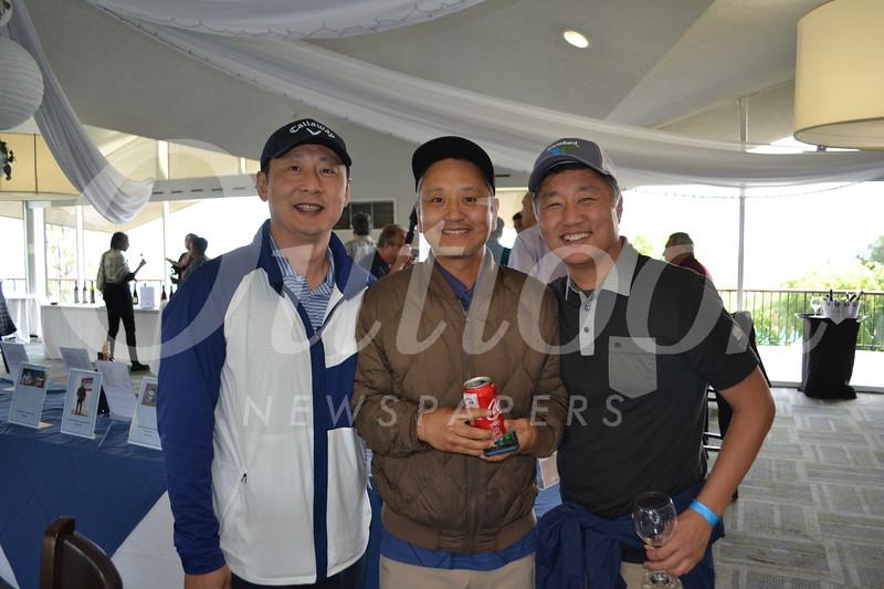 Pilsoo Oh, Jay Lee and Robert Lee