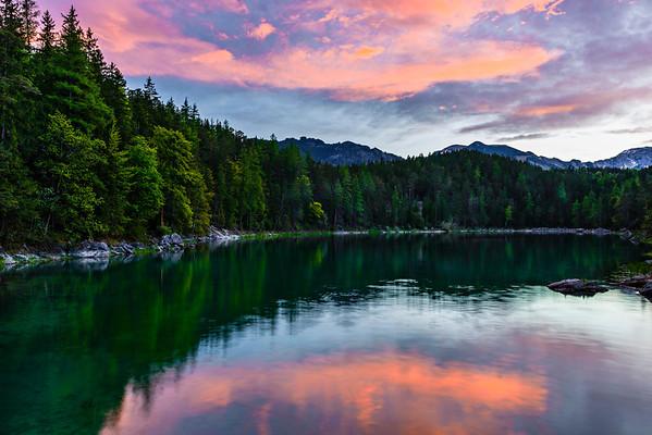 Germany Bavarian Alps Deutschland
