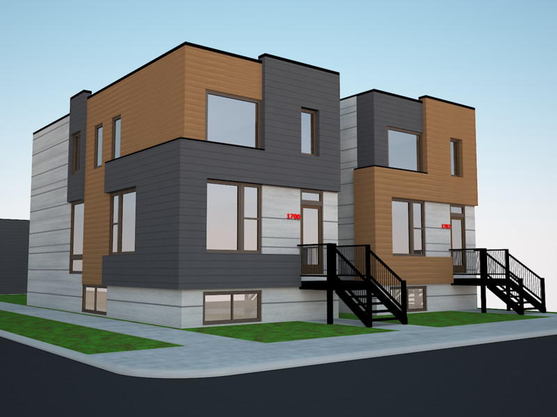 * COMING SOON - 2 TOWN HOMES IN HUMBOLDT PARK - CHICAGO 9' BASEMENT WITH 9' FIRST FLOOR AND 8' SECOND FLOOR ALL CONCRETE - ALL SUPERIOR WALLS