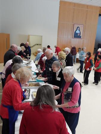 2018 Christmas Seasoned Citizens Luncheon