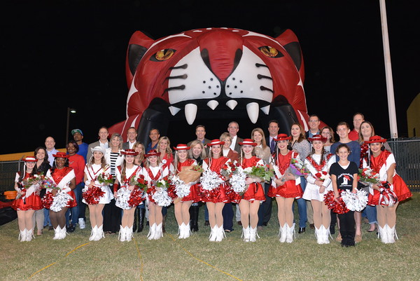 2015: Dettes Perform at Game v North Mesquite and Senior Night - Oct. 29