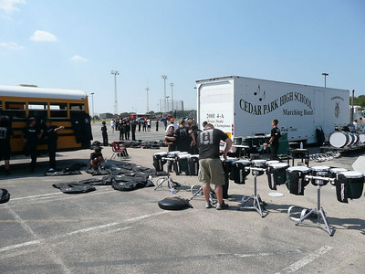 Belton Drumline Competition - (Sept 22 2007) Pictures courtesy of David Mothersole