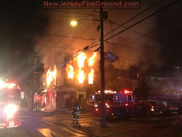 8-22-2014(Camden County)CAMDEN CITY 900 blk S. 9th St.-2nd Alarm Building