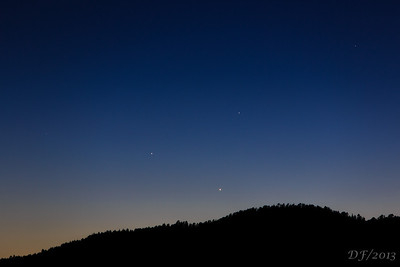 Triple Planetary Conjunction