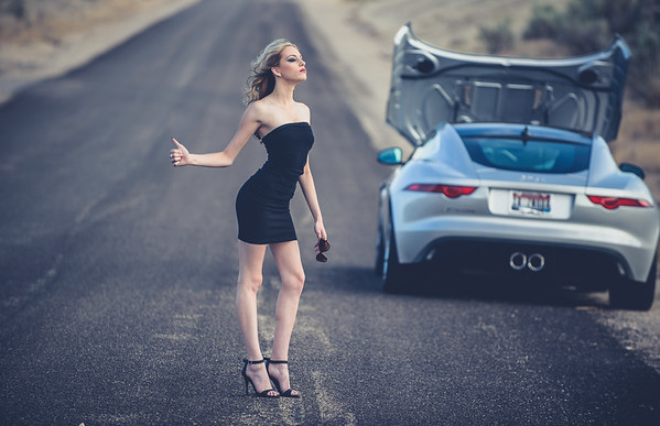 Lexy, themed fashion shoot. Broken. Boise Photographer.