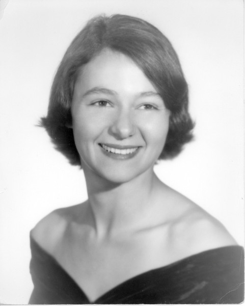 Portrait of Joan Dilys Lacey. She and Dick Tallman of Ohio were married in Miles City, Montana 1956. Dr. and Mrs. Lacey moved to Miles City in 1954 where Dr. Lacey was surgeon at the VA Hospital.