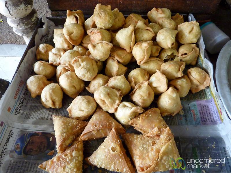 Samosas and Singara as Snacks - Bandarban, Bangladesh