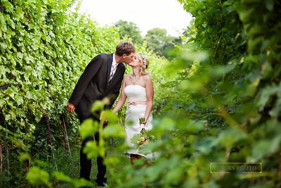 Alyssa & Erik - VA Winery - 7.23.14