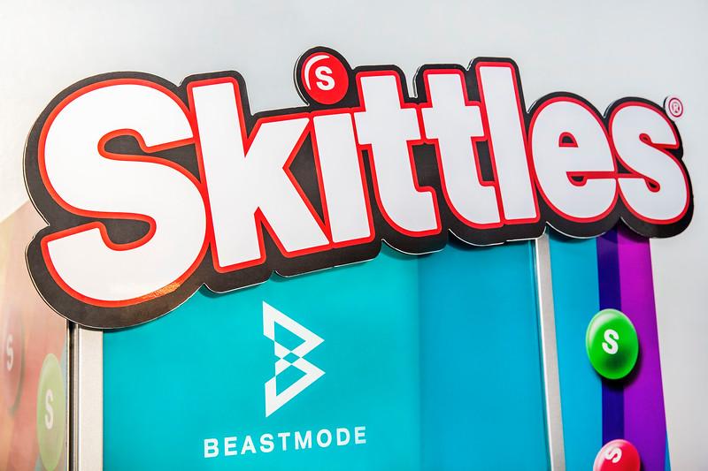 Beast Mode Skittles Dispenser
