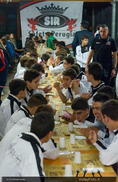 2013.10.09 SIR Safety Perugia - Presentazione Settore Giovanile