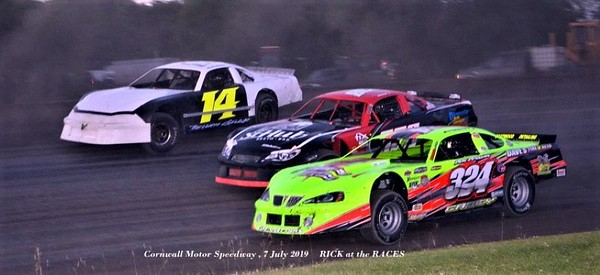 Cornwall Motor Speedway - 7/7/19 - Rick Young