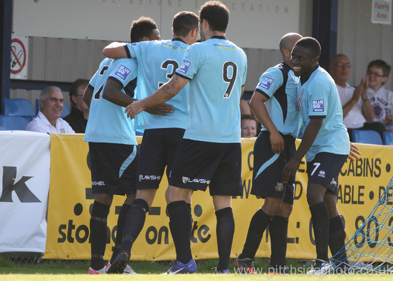 "Eastleigh 4 Maidenhead united 2, Blue Square South, 15th September 2012                 Print: 7"" x 5"" - UK£3.50  Print: 10"" x 8"" - UK£5.00 Print: 14"" x 10"" - UK£8.00"