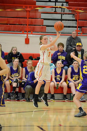 CHS Girls Hoops vs Taylorville Senior Night January 28, 2015