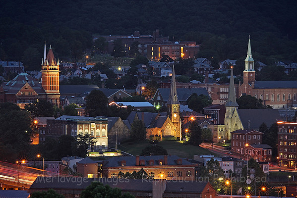Cumberland at Night  (purchase online)