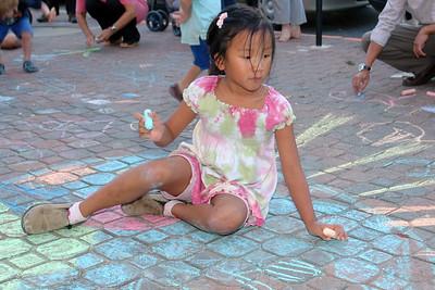 CHALK4PEACE '09 Yoga in Daily Life, Alexandria, VA