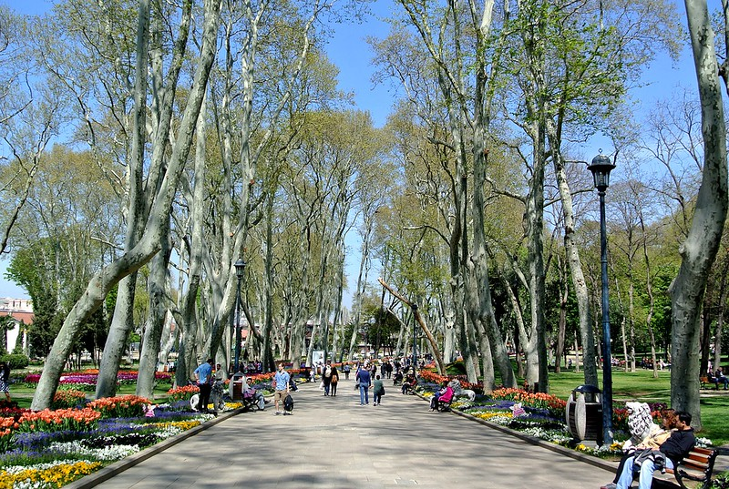 Gulhane Park in Istanbul