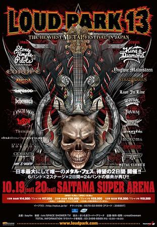 ENFORCER - LOUD PARK 13. Saitama Super Arena, Tokyo