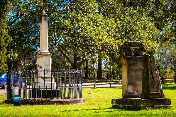 Memorials Around Sydney