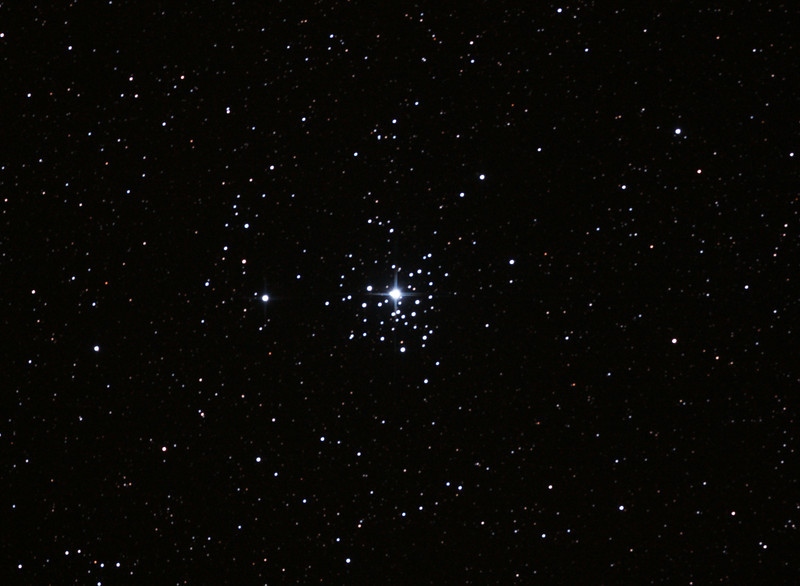 Caldwell 64 - NGC2362 - Tau Canis Majoris Cluster - 3/2/2013 (Processed cropped stack)