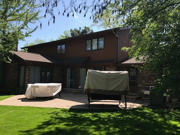 GAF Timberline Barkwood And Aluminum Gutters Northbrook IL