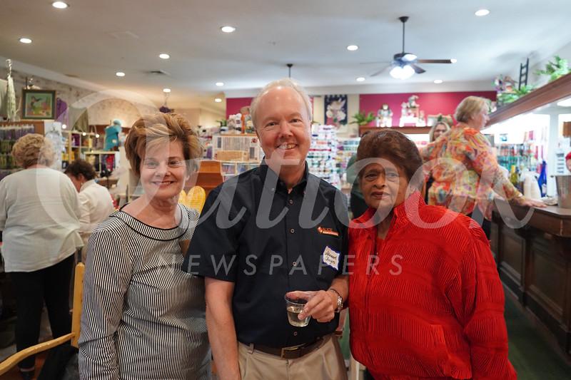 Susan Jakubowski, Stewart Rogers and Soma Warna