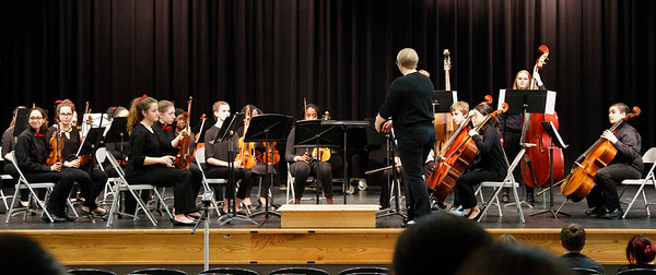 TJHS Orchestra Adjudication (and Monocacy Middle) March 21, 2017