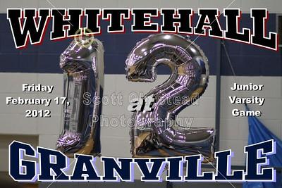 2012 Whitehall at Granville (02-17-12) JUNIOR VARSITY