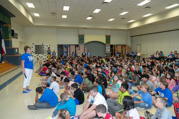 Rockdale ISD EAFK Ceremony August 2019