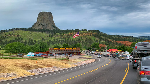 Day 29 - 30th June 2019 Devils Tower Wyoming