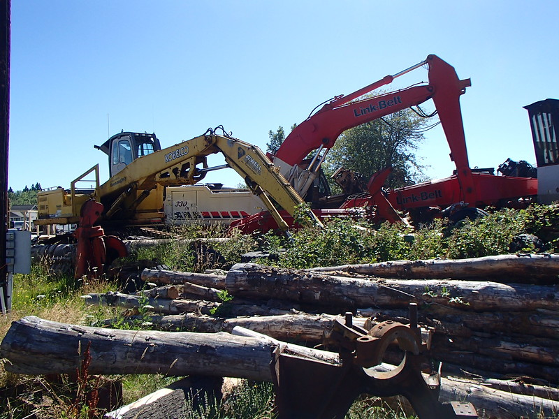 Weist Logging at the old Enoch Skirvin & Son's Yard in Philomath, OR